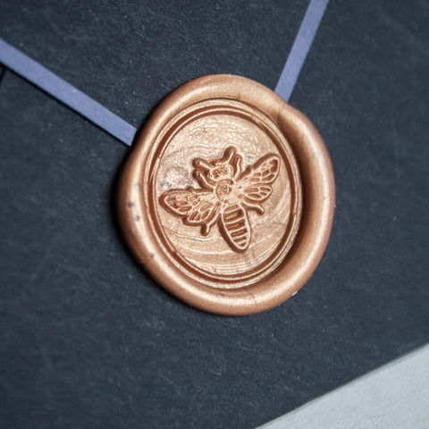 Botanical Series Wax Seal Set: Honey Bee