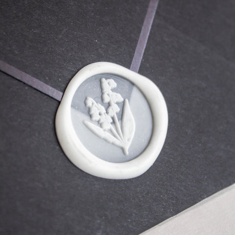 Botanical Series Wax Seal Set: Lily of the Valley