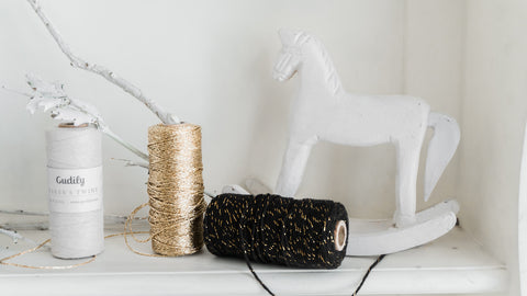 Baker's Twine Metallic Gold