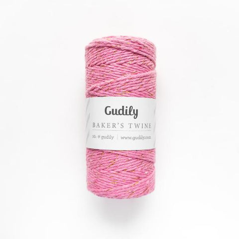Baker's Twine Pink Gold