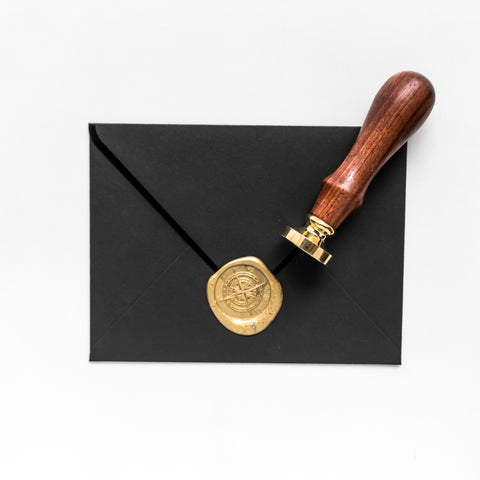 Wedding Series: Compass Wax Seal