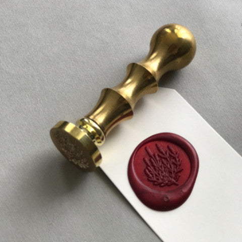 Custom Wax Seal Set with Chess Metal Handle
