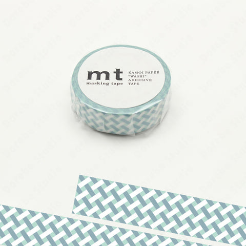 (15mm x 10 m) net check blue
