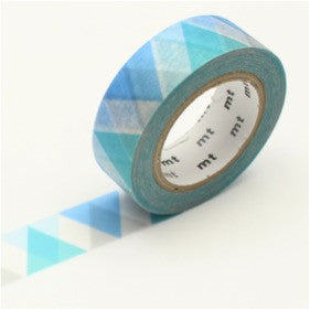 (15mm x 10 m) triangle and diamond blue