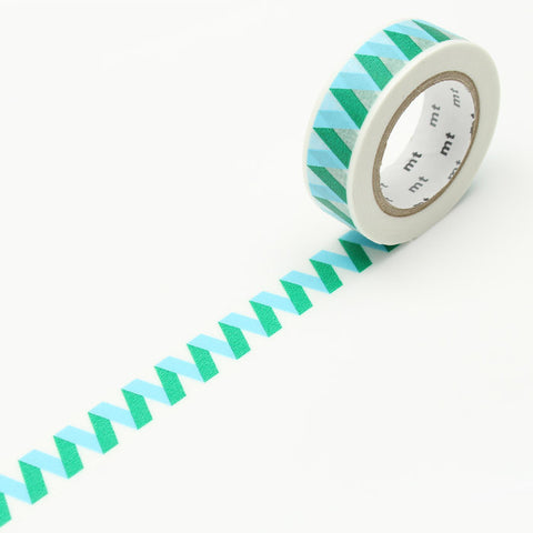 MT01D352 (15mm x 10m) rickrack blue