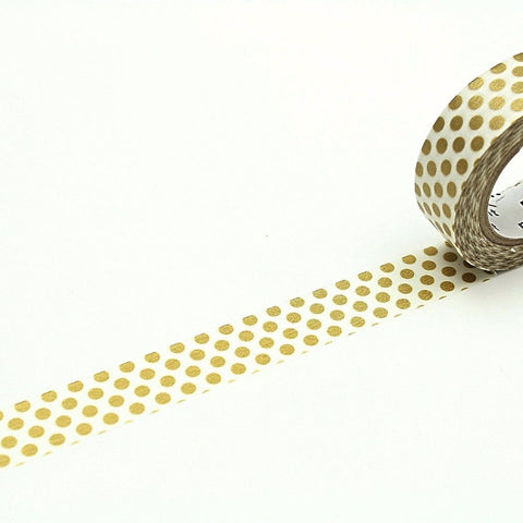 (15mm x 10 m) dot gold 2
