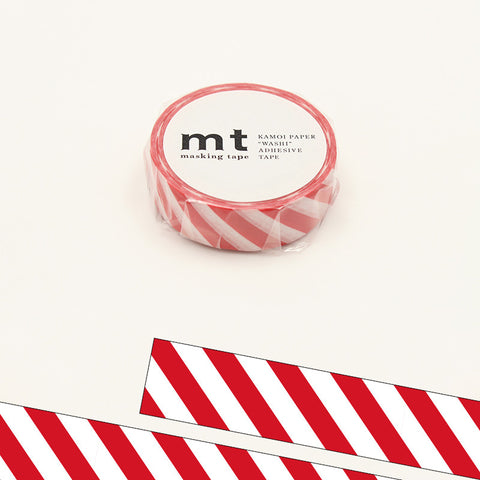 MT01D371 (15mm x 10m) stripe red