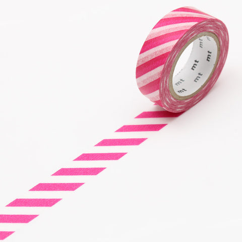 MT01D372 (15mm x 10m) stripe magenta