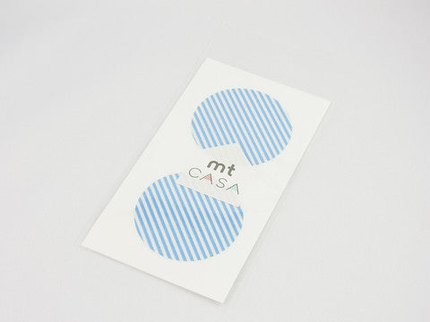 MT Casa Dot Stripe Light Blue