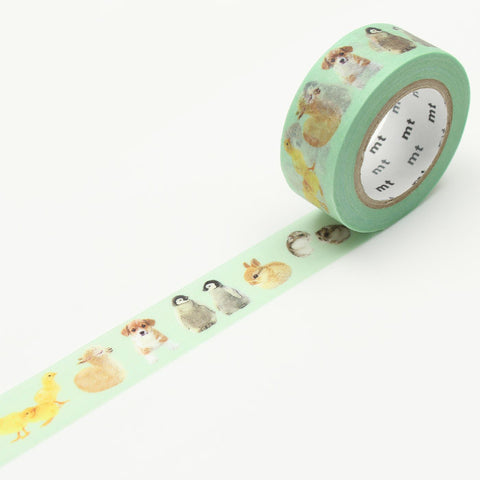 MTEX1P129 (18mm x 10m) baby animals