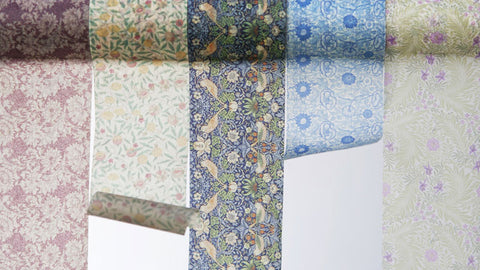 (50mm x 10m) William Morris Fruits
