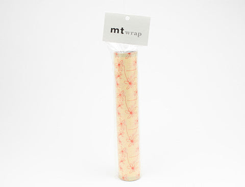 """mt"" wrap (230mm x 5m) Olle Eksell - flower"