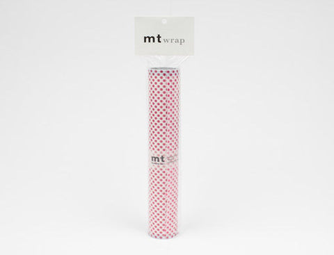 """mt"" wrap (230mm x 5m) dot red"