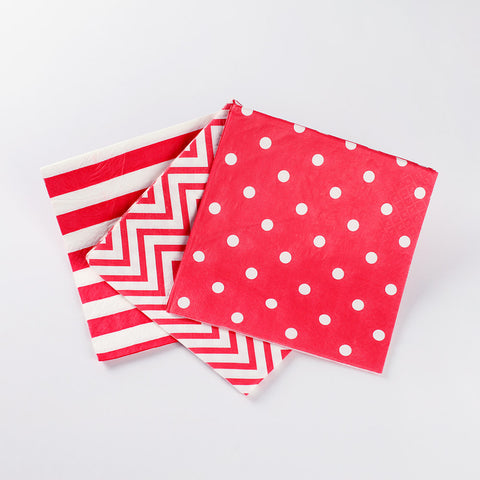 Napkins Red