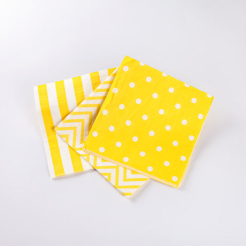 Napkins Yellow