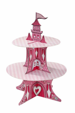 Princess Party 2 Tier Cakestand & Stickers