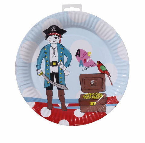 Pirate Party Plate Pk8