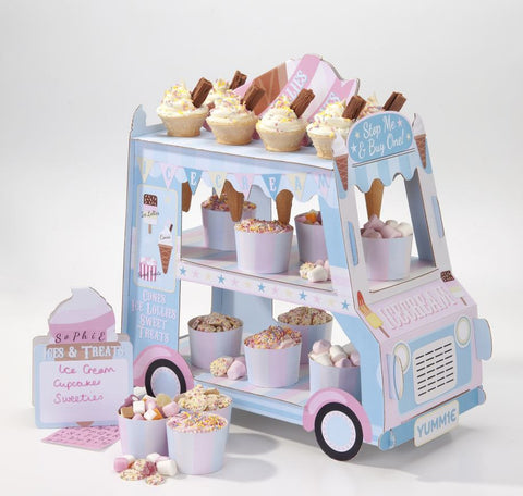 Street Stall Ice Cream 3 Tier Treat Van Stand