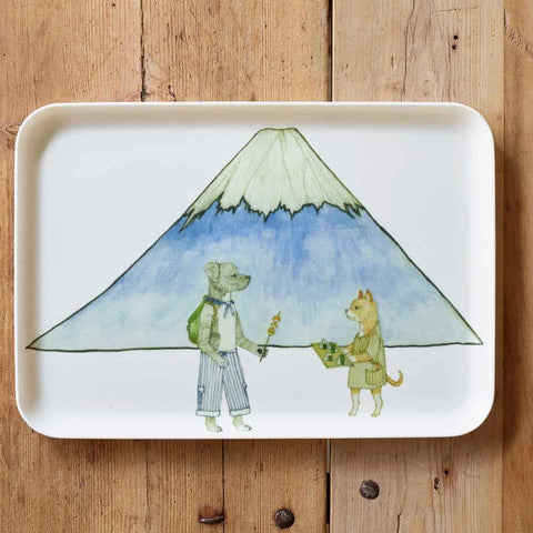 LINEN COATING TRAY M MT.FUJI