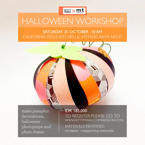 """mt"" Halloween Workshop"