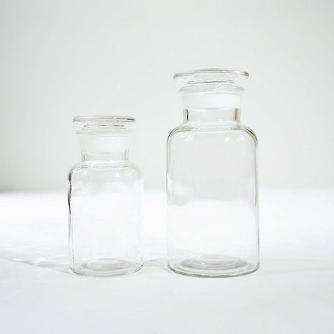 Apothecary Clear Bottle