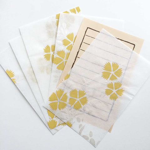 Autumn Gingko Letter Set