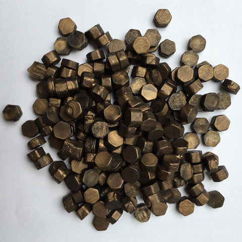 100gr Sealing Beads Old Bronze