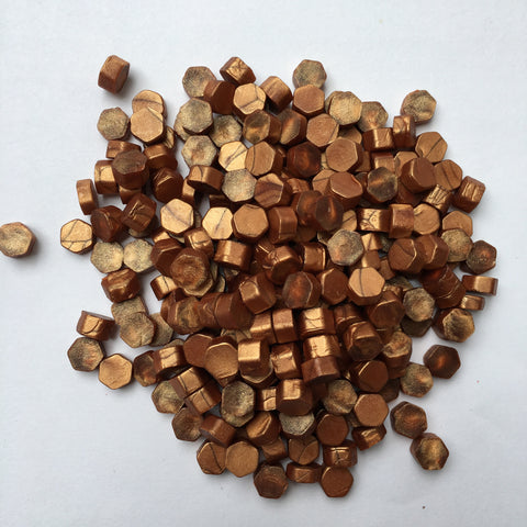 100gr Sealing Beads Rose Gold