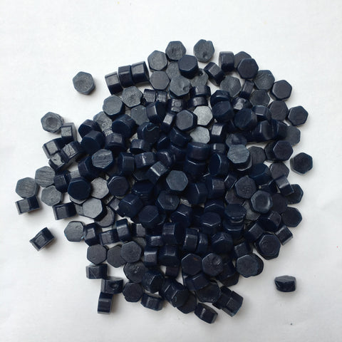100gr Sealing Beads Navy Blue
