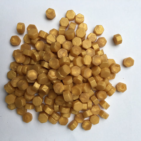 100gr Sealing Beads Yellow Gold