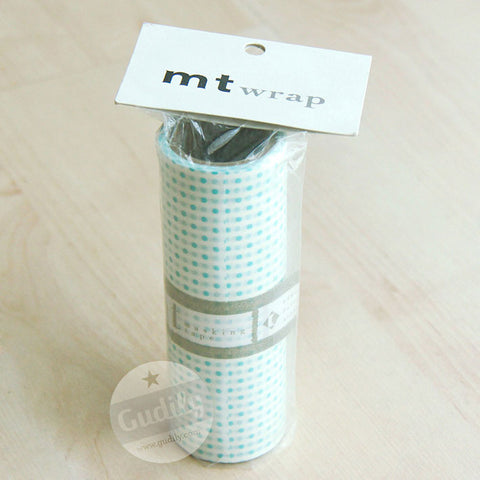 MT Wrap Dot Pale Blue