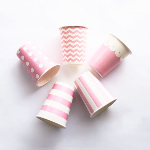 Paper Cups Pink