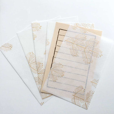 Autumn Tree Letter Set