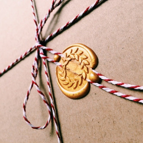 Victory Wreath Wax Seal