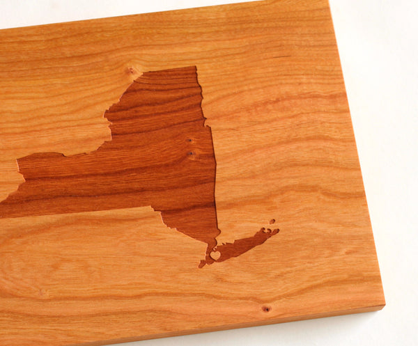 Silhouette City, State or Country Cutting Board