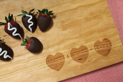 Heart Addition Cutting Board