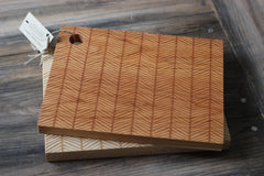 Herringbone Pattern Cutting Board