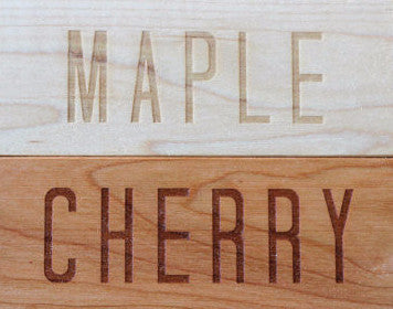 Personalized Cutting Board - Name along Bottom