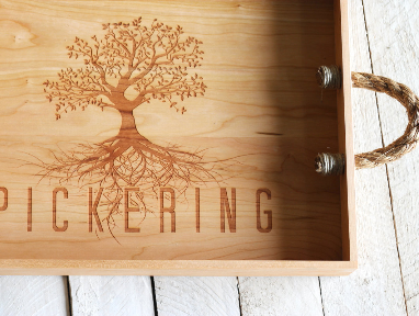 Family Tree Personalized Serving Tray