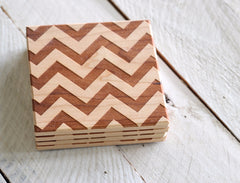 Chevron Pattern Coasters