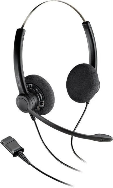 Poly  SP12 - Practica Binaural Headset (with new QD - Excl Cable)