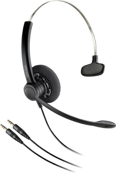 Poly  SP11 - Practica Monaural Headset (Hardwired Sound Card)
