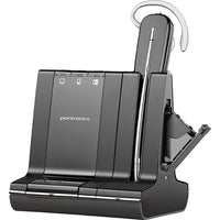 Poly  Savi Office - W745 Dect Wireless Headset with Base (Convertible) (DBB) - Delux Kit
