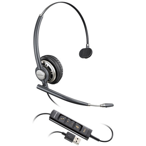 Poly  HW515 - Encore Pro Monaural Wideband Headset (Noise Cancelling) (USB)