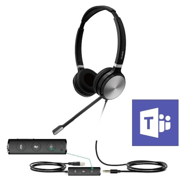 Yealink USB & 3.5mm DUO Headset (UH36-DUO)