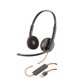 Plantronics Blackwire C3220 - Binaural Corded Headset (USB)