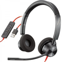 Plantronics Blackwire C3320-M Binaural Corded Headset with MSTeams Button (USB)
