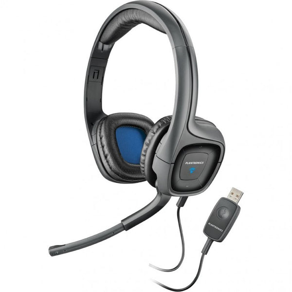 Poly .Audio 655 Stereo Multimedia PC Headset with 40mm headphone (USB)