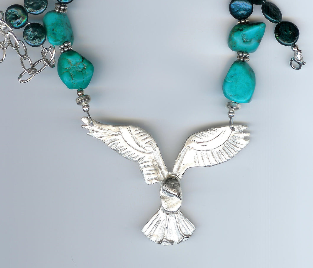 Osprey necklace