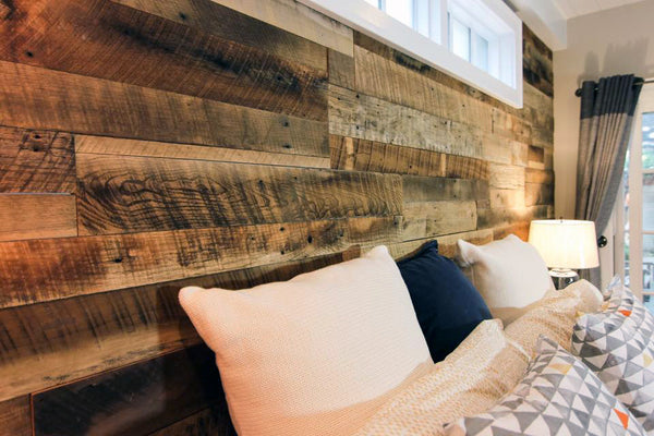 Reclaimed Rustic Brown Barnwood